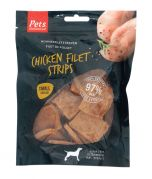 Pets Unlimited Chicken Filet Strips Small