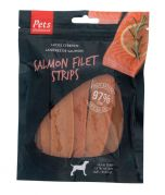Pets Unlimited Salmon Filet Strips Large