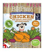 Little Big Paw Dog Chicken with Spinach