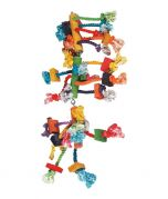 Flamingo Toy Hanger with Beads