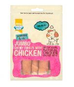 Armitage Good Boy Jumbo Chewy Twists with Chicken Dog Treats