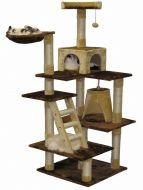"""Go PetClub 72"""" Cat Tree Condo Furniture"""