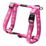 Rogz Pink Paw Harness