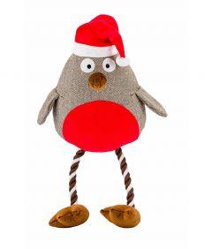 Armitage Giant Robin Christmas Dog Toy