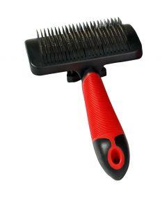 Flamingo Dog Slicker Brush Easy Clean