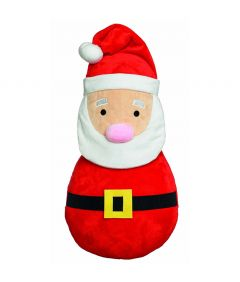 Armitage Large Plush Santa Dog Toy