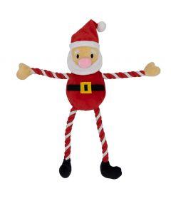 Armitage Hug Tug Santa Dog Toy