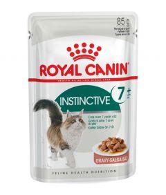 Royal Canin Instinctive 7+ in Gravy 85g Pouch
