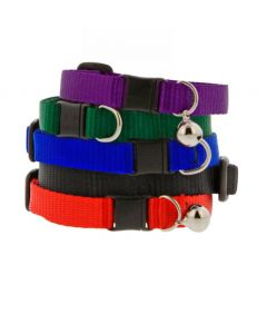 Lupine Basic Safety Buckle Cat Collar with Bell
