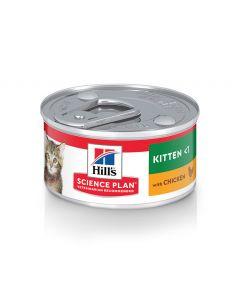 Hill's Science Plan Kitten Chicken Canned Cat Food