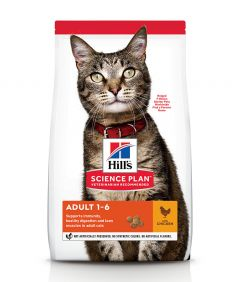 Hill's Science Plan Adult Chicken Dry Cat Food