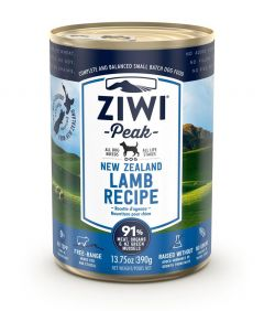 ZiwiPeak Lamb Recipe Canned Dog Food