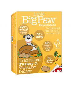 Little Big Paw Dog Turkey & Vegetable Dinner