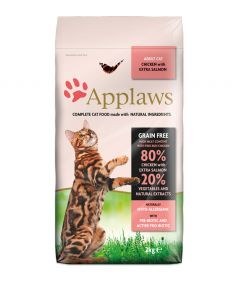 Applaws Chicken & Salmon Dry Adult Cat Food