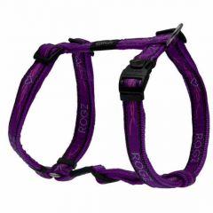 Rogz Purple Chrome Harness