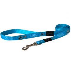 Rogz Turquoise Paw Lead
