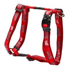 Rogz Red Bone Harness