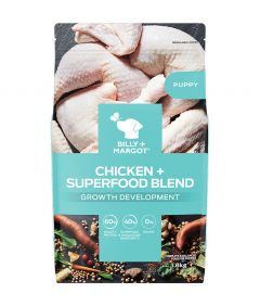 Billy & Margot Puppy Chicken + Superfood Blend Dry Dog Food