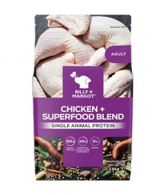Billy & Margot Adult Chicken + Superfood Blend Dry Dog Food