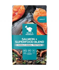 Billy & Margot Adult Salmon + Superfood Blend Dry Dog Food