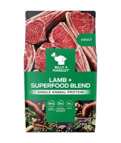 Billy & Margot Adult Lamb + Superfood Blend Dry Dog Food