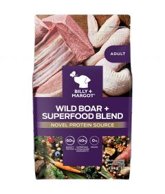 Billy & Margot Adult Boar + Superfood Blend Dry Dog Food