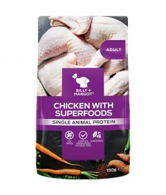 Billy & Margot Adult Chicken with Superfoods Pouched Wet Dog Food