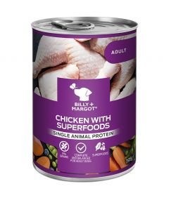 Billy & Margot Adult Chicken with Superfoods Canned Wet Dog Food