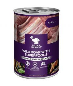 Billy & Margot Adult Boar with Superfoods Canned Wet Dog Food