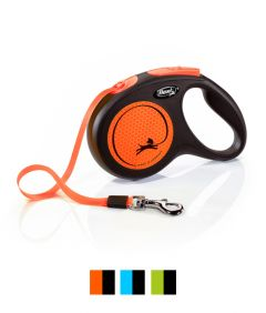Flexi New Neon Tape Retractable Dog Leash