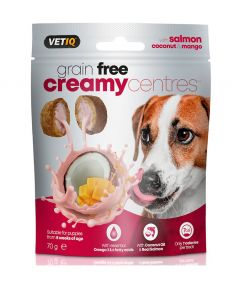 VetIQ Creamy Centres Salmon Dog Treats