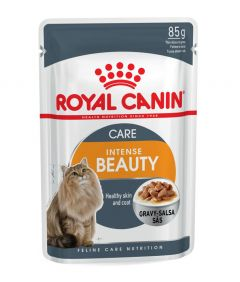 Royal Canin Intense Beauty in Gravy 85g Pouch