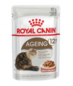 Royal Canin Ageing 12+ in Gravy 85g Pouch