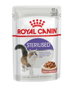 Royal Canin Sterilised in Gravy 85g Pouch