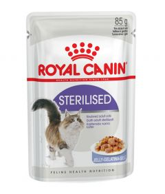Royal Canin Sterilised in Jelly 85g Pouch