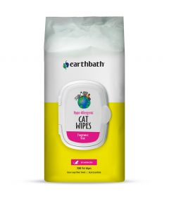 Earthbath Cat Grooming Wipes Hypoallergenic