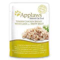 Applaws Cat Chicken with Lamb 70g Jelly Pouch