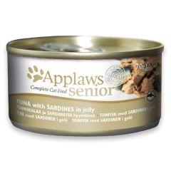 Applaws Cat Senior Tuna with Sardines 70g Tin