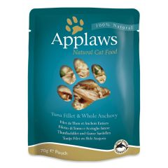 Applaws Cat Tuna with Anchovy 70g Pouch