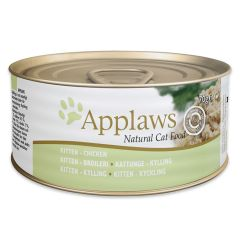 Applaws Kitten Chicken 70g Tin