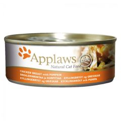 Applaws Cat Chicken with Pumpkin 156g Tin
