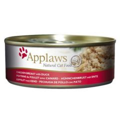 Applaws Cat Chicken with Duck 156g Tin