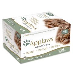 Applaws Cat Multipack Fish Selection 8 x 60g Pot