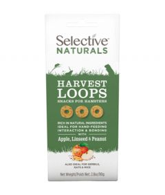 Selective Naturals Harvest Loops for Hamsters