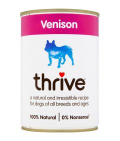 Thrive Complete Dog Venison Wet Food