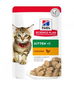 Hill's Science Plan Kitten Chicken Wet Food Pouch
