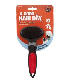 Mikki Pet Grooming Ball Pin Slicker