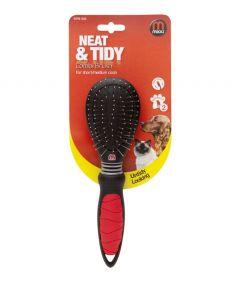 Mikki Combi Brush Grooming Hair Coat Dog & Cat