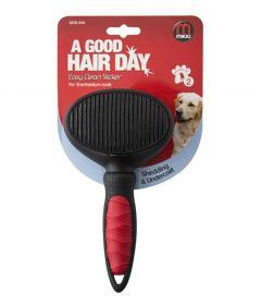 Mikki Easy Clean Slicker Dog Grooming