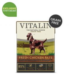 Vitalin Fresh Chicken Pate Dog Wet Food